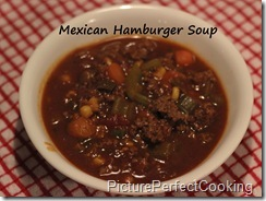 MexicanHamburgerSoup