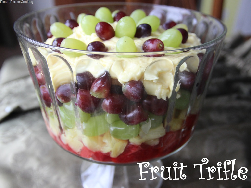 Fruit Trifle | Picture Perfect Cooking