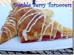 Double Berry Turnovers