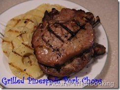 Grilled Pineapple Pork Chops