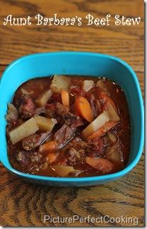 Aunt Barbara's Beef Stew