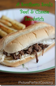 Beef and Cheese Sandwich 2
