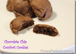 Chocolate Chip Comfort Cookies 1