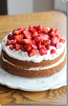 Strawberry Country Cake3
