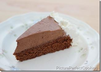 Chocolate Mousse Cake 2
