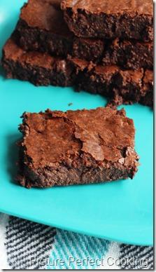 The Pioneer Woman Deep Dark Chocolate Brownies 1